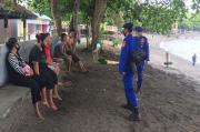 Personel Polairud Polda Sulut Siaga Pengamanan Libur Panjang di Lokasi Wisata
