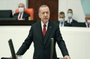 Pajang Kartun Erdogan Cabul, Turki Gugat Charlie Hebdo