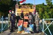 Taruna AAL Kunjungi Satgas Pulau Terluar Penjaga Batas wilayah NKRI di Pulau Berhala