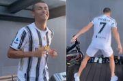 Ronaldo Selebrasi Siu, Eh, Fans Juventus dan Barcelona Ribut di Medsos