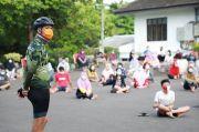 Ganjar Temui Pasien Covid-19 di Tempat Isolasi Rumdin Wali Kota Semarang