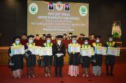 Universitas Nahdatul Ulama Surabaya Lepas 855 Mahasiswa secara Virtual