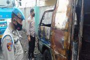 Ditinggal di Bengkel, Mobil Perpustakaan Keliling Pemkab Simalungun Ludes Terbakar
