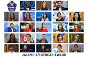 23 Presenter TV Ajak Jalani Hidup Sehat lewat Mars