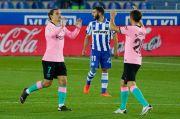 Griezmann Kecewa Barcelona Batal Berpesta di Markas Alaves