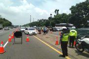 Arus Balik Padat, Contraflow KM 65-47 Tol Jakarta-Cikampek