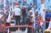 Demo MK, Buruh Berharap Pengangkangan UUD 1945 pada UU Cipta Kerja Terungkap