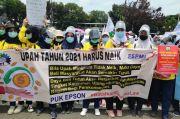 Unjuk Rasa Tolak UU Cipta Kerja, Massa Minta MK Harus Memihak Buruh