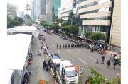 Massa PA212 kian Banyak, Polisi Tutup Arus Lalu Lintas dari Bundaran HI ke MH Thamrin