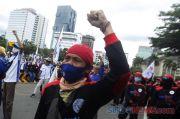 Demo Selesai, Jalan MH Thamrin-Patung Kuda Kembali Dibuka