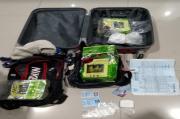 3 Kg Sabu asal Malaysia Disita Ditpolairud Polda Kepri dari Seorang Pria dan Wanita