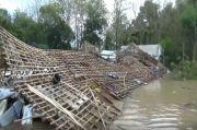 Banjir Rendam Kandang Ayam di Madiun, Ribuan Ayam Siap Motong Mati, Peternak Rugi Ratusan Juta