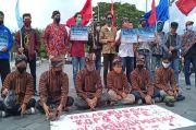 Protes UMP, Buruh di DIY Lakukan Topo Pepe