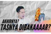 Terima Tantangan Netizen, Arie Untung Tayangkan Aksi Bakar Tas