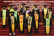 Berstatus PTN-BH, Rektor UNS Kukuhkan 3 Guru Besar Baru
