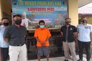 Asyik Minum Tuak, Mantan Kades di Batu Bara Dibekuk Polisi