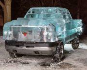 Perusahaan Ban Kanada Berhasil Ciptakan Mobil dari Es