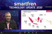 Smartfren Catat Traffic Data Meningkat 24% di Paruh Kedua 2020