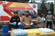 Polres Ciamis Gagalkan Pengiriman Obat Terlarang Lintas Provinsi