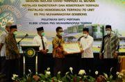 Bantu RS PKU Muhammadiyah Gombong, Menkes Ingatkan Protokol Kesehatan