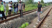 Pria Ditemukan Tewas Mengenaskan di Jalur KA, Diduga Bunuh Diri
