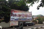 Jelang Kepulangan, Spanduk dan Poster Habib Rizieq Shihab Bertebaran di Petamburan