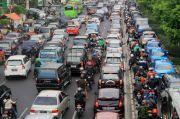 Ada Penyempitan Jalan, Margonda Mengalami Kemacetan
