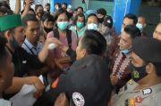 Unjuk Rasa HMI soal Kecurangan Seleksi CPNS di Kanwil Kemenkumham Sulbar Ricuh