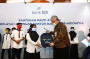 Bank BJB Beri Santunan ke Puluhan Panti Yatim di Jawa Barat
