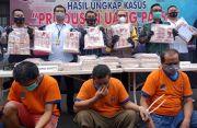 Polrestabes Surabaya Bongkar Sindikat Uang Palsu Senilai Rp16 Miliar