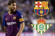 Preview Barcelona vs Real Betis: Blaugrana Bidik Kemenangan Pertama