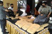 Buruh Harian Lepas Nekat Jualan Ganja, Barang Buktinya 41 Kg