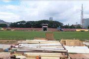 Progres Pembongkaran Stadion Mattoanging Sudah 10%