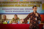 Kabupaten Serang Lepas dari Predikat Pengangguran Tertinggi di Banten