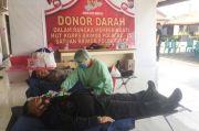 Sambut HUT ke-75 Korps Brimob, Polda Sulut Gelar Donor Darah