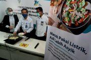 Konversi Kompor LPG ke Kompor Induksi PLN Raih Marketing Sustainibility Brand Award