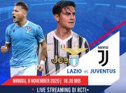 Susunan Pemain Lazio vs Juventus: Ronaldo Starter