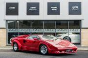 Hidupkan Lamborghini Countach , Bermacam Merek Mobil Dikawinkan