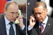 Via Telepon, Erdogan-Putin Bahas Konflik di Nagorno Karabakh