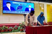 Kampanye Virtual, Chaidir-Suhartina Pertajam 12 Program dan Teken Kontrak Politik