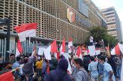 Minta Aduannya Diproses, Massa AMPD Gelar Aksi di depan Gedung DKPP