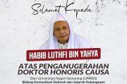 PBNU Ucapkan Selamat Atas Penganugerahan DR HC kepada Habib Luthfi