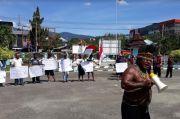 LGMP Demo di Jayapura, Minta Otsus Papua Dilanjutkan