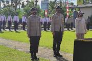 Personel Polres Tomohon Siap Jaga Netralitas Pilkada Serentak 2020