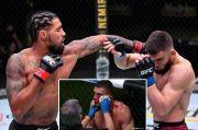 UFC Gempar!! Telinga Petarung Ramiz Brahimaj Sobek Hampir Copot