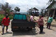 Berjarak 3 Km dari Puncak Merapi, Ratusan Warga Tlogolele Boyolali Mengungsi