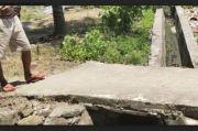 Mulai Rusak, Pembangunan Drainase di Desa Wajoriaja Dikeluhkan Warga