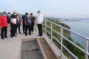 Gubernur Tinjau Progres Pembangunan Titik Nol dan Jalur Pedestrian Wisata Bira