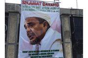 Habib Rizieq Tiba di Indonesia, Begini Suasana Markas FPI di Petamburan