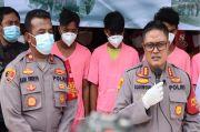 Polisi Gulung Kelompok Pemalak di Kebon Pisang
